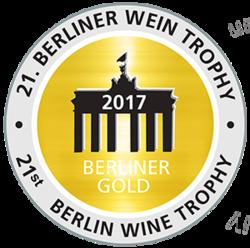 Berliner Wein Trophy (2017) - zlatá medaila