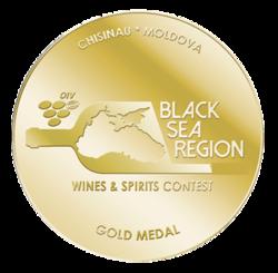BLACK SEAREGION WINES & SPIRITS CONTEST Kišinev (2018)  zlatá medaila