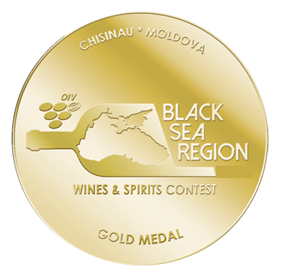 Medaila - BLACK SEAREGION WINES & SPIRITS CONTEST Kišinev (2018) zlatá medaila
