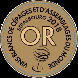 LES GRANDS CONCOURS DU MONDE STRASBOURG Francúzsko (2018) zlatá medaila, Víťaz vo svojej kategórií