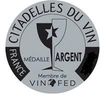 Citadelles du Vin Bordeaux Francúzsko (2018) strieborna medaila