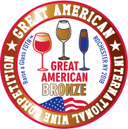 Great American International wine competition (2019) bronzová medaila