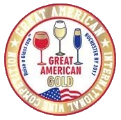 Great American International wine competition (2019) zlatá medaila