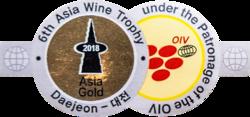 Asia Wine Trophy (2018) zlatá medaila