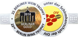Berlin Wine Trophy(2018) zlatá medaila