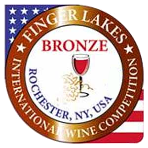 Medaila - Finger Lakes International Wine Competition USA (2018) bronzová medaila