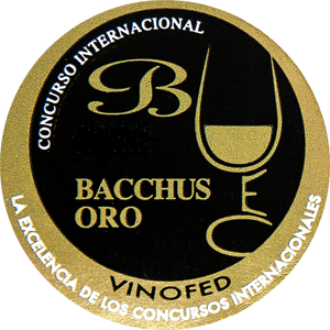 Medaila - Bacchus Wine International Competition Španielsko (2018) zlatá medaila