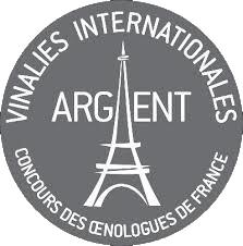 Vinalies Internationales Paris (2018)  strieborná medaila