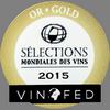 Selections Mondiales des Vins - Canada (2015) - zlatá medaila