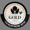 Oenoforum (2016) - zlatá medaile