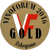 VINOFORUM Zakopane, PL (2016) - zlatá medaila