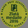 Grand Prix Austerlitz (2016) - velká zlatá medaile