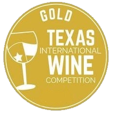 Medaila - Texas international wine competition (2017) zlatá medaila
