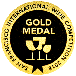 San Francisco (2018) zlatá medaila