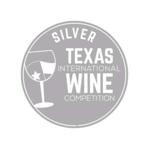 Medaila - Texas international wine competition (2017) strieborná medaila