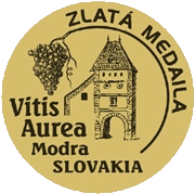 Vitis Aurea Modrá (2018) zlatá medaila