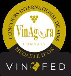VINAGORA Maďarsko (2018) zlatá medaila