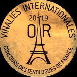 Vinelies Paris France (2019) zlatá medaila