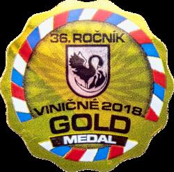 Viničné (2018) zlatá medaila