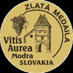 Vitis Aurea Modrá (2020) zlatá medaile